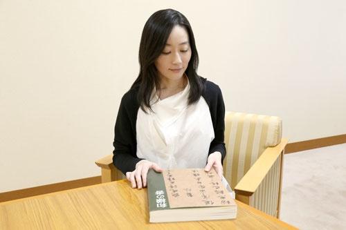 「和様の書」展(2013年)では日本の書の名品が一同に会した<br />(photo by nanaco)