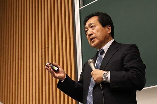 <b>岩田 秀信(いわた・ひでのぶ)氏</b><br/>元ホンダ専務執行役員<br/>1978年名古屋大学院修了。本田技研工業に入社。ホンダエンジニアリング、ホンダエンジニアリングノースアメリカでの勤務を経て2005年ホンダ執行役員、ホンダエンジニアリング社長、2007年鈴鹿製作所長に就任。2008年ホンダ常務執行役員、2009年ホンダ・オブ・アメリカ・マニュファクチャリングのCEO(最高経営責任者)に。2011年ホンダ専務執行役員を務め、2014年に退職。社友に  (写真=陶山 勉、以下同)