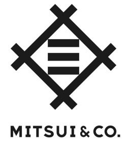 伝統のモチーフ「井桁に三」を最適なバランスにアップデートしたロゴを展開