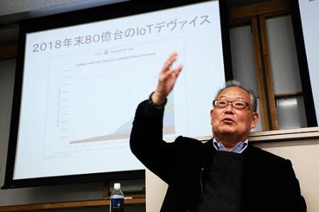 <b>村上憲郎(むらかみ・のりお)氏</b><br /><b>元グーグル日本法人社長/村上憲郎事務所 代表取締役</b><br />1947年大分県生まれ。1970年京都大工学部を卒業後、日立電子に入社。1978年日本ディジタル・イクイップメント(DEC)に転じ、1992年同社取締役企画本部長に。1994年米インフォミックス副社長兼日本法人社長、1997年ノーザンテレコム(後にノーテルネットワークス)ジャパン社⻑、2001年ドーセントジャパン社長などを歴任。2003年グーグル米国本社副社長 兼 日本法人社長に就任。2009年グーグル日本法人名誉会長に。2011年村上憲郎事務所を開設し代表取締役に就任、現在に至る。(写真:陶山 勉)