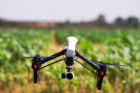 農業分野にもドローンなどといった先端テクノロジーの導入が進んでいる。(写真:rustsleeps/123RF)