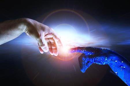 人工知能(AI)が指数関数的な進化を遂げ、人類の知能を上回ることを指す「シンギュラリティ(技術的特異点)」。米国の発明家レイ・カーツワイル氏は2045年に訪れると予想したが…。(写真:johndwilliams/123RF)