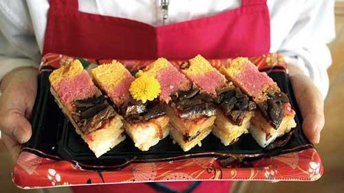 「もろこ寿司」(惣菜コーナー)