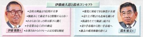伊藤氏と鈴木氏、それぞれの経営方針(写真:清水盟貴)