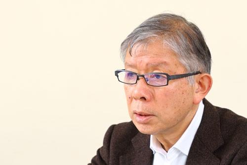 清水浩氏は1980年代からEVの開発に取り組んできた(撮影:北山宏一)