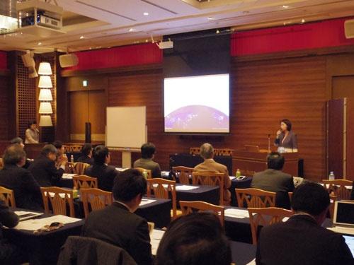 昨年12月に熊本市で開かれた宇宙活用の分科会