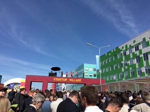 スコルコボ最大のイベントStartupVillageはスコルテックの学園祭ともいえる