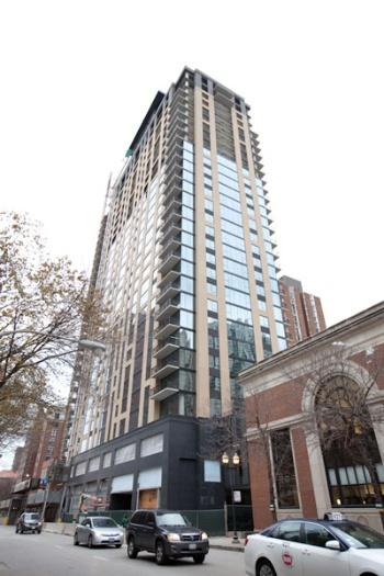 シカゴでは中心地に高層賃貸マンションを建設している(写真:梨子田 まゆみ、以下同)