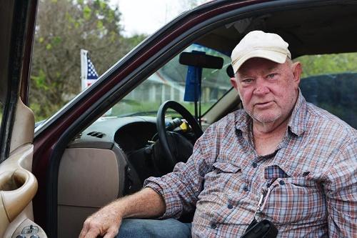ブラウンズビル生まれのラスティ・モンシー氏。「みんなあの男のことが嫌いらしいが、彼はフェアだ」(写真:Miguel Angel Roberts、以下同)