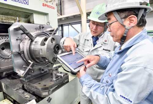 急速にカイゼンが進んだ長津工業の小松西工場(写真:山岸政仁)