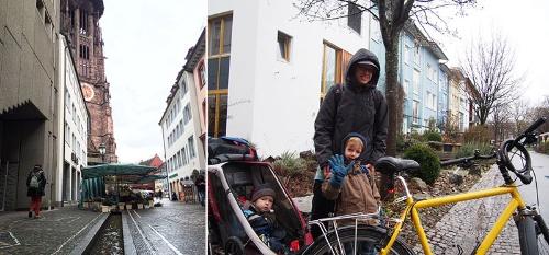 ドイツ・フライブルクの街並み。家が資産として広く認知されている