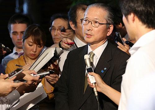連合の神津里季生・会長は難しいかじ取りを迫られる(写真:毎日新聞社/アフロ)