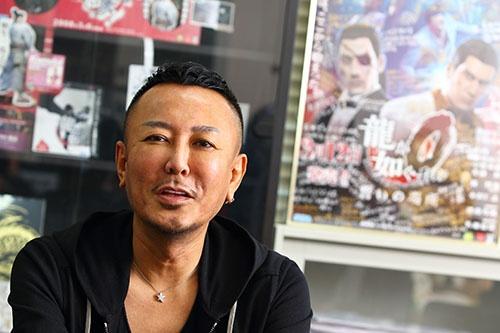 セガゲームスの名越稔洋取締役(写真:北山宏一)