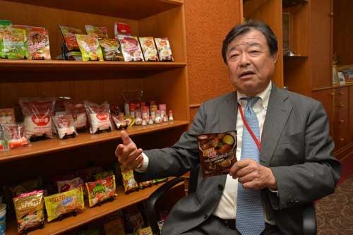 味の素アセアン本部長で高藤悦弘・取締役専務執行役員は、自身もインドネシアに駐在し、販路の拡大に力を注いだ経験がある。「コンビニエンスストアやスーパーなど新たな販路の拡大に貪欲にまい進していかなければならない」と力をこめる