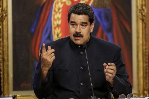 2013年からベネズエラの大統領を務めるニコラス・マドゥーロ氏。大統領独裁色の強い憲法改正を強行しようとしている(写真:ZUMA Press/amanaimages)