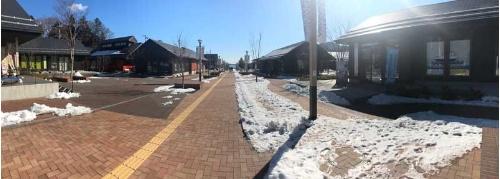女川に新設されたモール型商店街「シーパルピア女川」。地元住民や移住者が起業した店が並ぶ