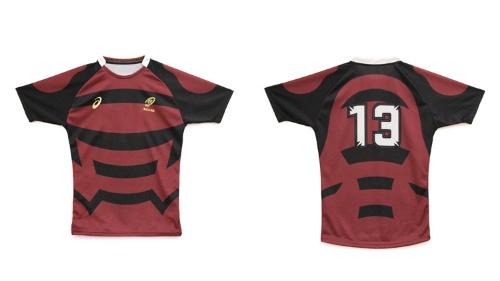 nendoがデザインした新ユニフォーム。ラグビーの各国代表チームが着るようなタイトフィットのものをベースにデザインを進めた
