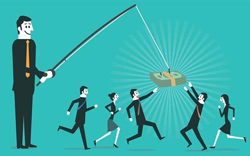 世の中には「おとり商法」が蔓延している・・・(写真:yuoak/Getty Images)