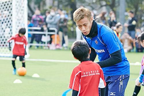 本田圭佑氏は米国でもサッカーをメジャーな存在にしたいという野望を抱く(写真:HONDA ESTILO)
