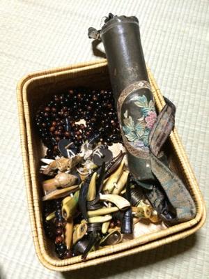 口寄せで使用する数珠とオダイジ