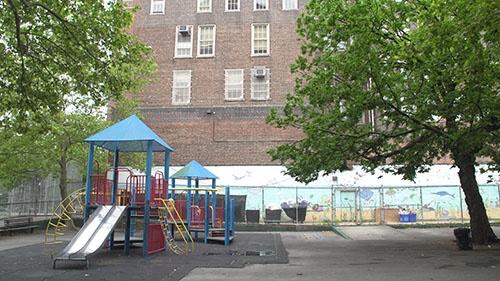 マンハッタン・ハーレム地区にある公立小学校「P.S.125 Ralph Bunche」(写真:Retsu Motoyoshi)