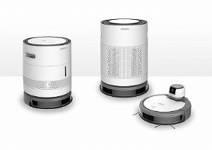 科沃斯機器人のロボット掃除機と拡張ユニット。いっそ全部入りのタワー型製品を作ってほしい