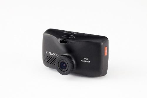 ケンウッドの「DVR-610」(実売価格1万6300円)は、最大2304×1296ドットの高解像度で撮影できるドライブレコーダー。前方の車に近づきすぎたときや車線をはみ出したときに警告する「運転支援機能」なども備える。