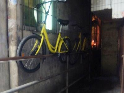 私物化されているとしか思えないofoのシェア自転車。