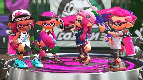 『Splatoon2』。Wii Uで大ヒットを記録した対戦バトルのシリーズ最新作も登場。2017年夏発売 (c)2017 Nintendo