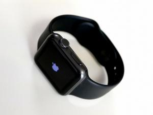 筆者が所有していた「Apple Watch Sport」 (スペースグレイアルミニウムケース38mm+ブラックスポーツバンド)