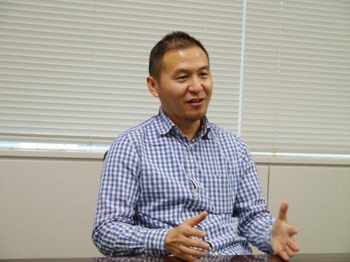 ビバルディを開発したVivaldi Technologiesの冨田龍起氏。