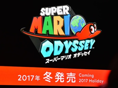 『スーパーマリオ オデッセイ』は冬発売となる。