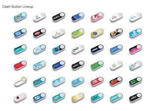 40以上のブランドのダッシュボタンが用意されている