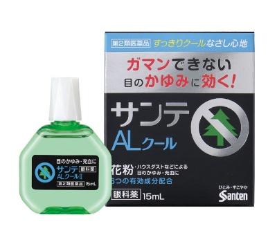 アレルギーによる目のかゆみや炎症を抑える成分を独自に配合。参天製薬「サンテALクール」(第2類医薬品、930円)