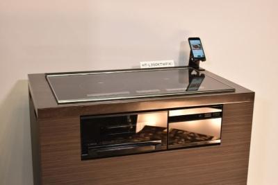 2月1日からキッチンメーカーなどに供給を開始したIHクッキングヒーター「火加減マイスター HT-L350T」シリーズ(受注生産品)
