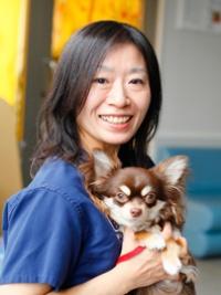 「東京動物医療センター」獣医師で皮膚科認定医の神宮司恵子さん