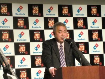 ドミノ・ピザ ジャパンCMO(最高マーケティング責任者)の富永朋信氏