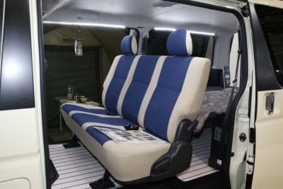 トヨタ/トヨタモデリスタの「ハイエース リラクベース」は「NEO RETRO FUN BOX」がデザインコンセプト