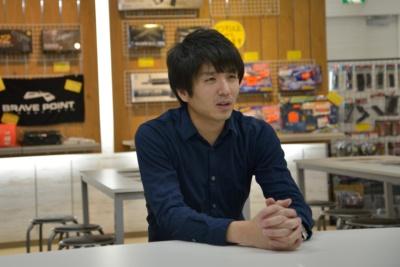 エッジイノベーションの生田篤史社長