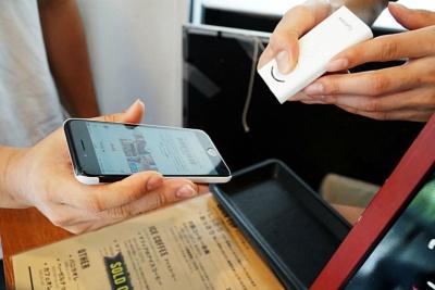 会員証はスマートフォンや携帯端末の画面で提示する