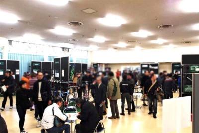 「2018 ハンドメイドバイシクル展」は2018年1月20、21日に科学技術館で開催された