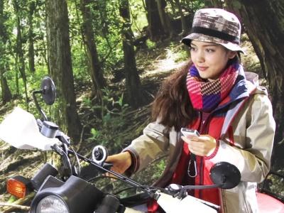 多くのアクションカムのように防塵防滴構造や耐衝撃構造を採用しているので、自転車やバイクなど衝撃が加わるシーンでも問題なく利用できた