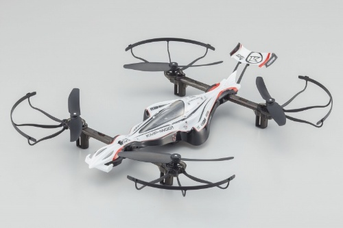 DRONE RACERは、フォーミュラーカーを連想させるデザインに仕上げた。ボディータイプは2種類で、こちらは「G-ZERO」(ジーゼロ)