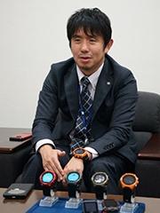 カシオ計算機 新規事業開発部 企画管理室 室長 坂田勝氏
