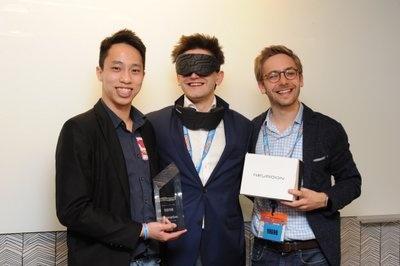 インテリクリニック社の創業者チーム。CEOのカミル・アダムチェック氏(中央)、ゼネラルマネージャーのトーマス・クルジエジェク氏(右)、マーケティング担当のライアン・ゴー氏(左)
