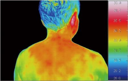 20分使用すると、首や背中全体が温かくなってくるという