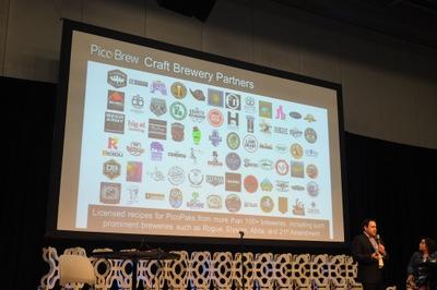 100種類を超えるクラフトビールのPicoPakが販売できる予定という