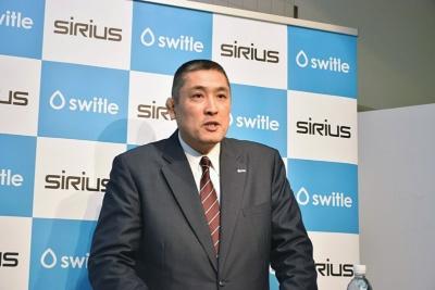 シリウスの亀井隆平社長