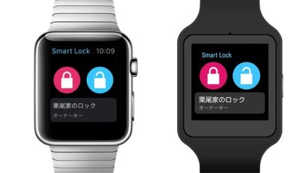 スマートウォッチでの操作は、watchOS 2.1以降とAndroid Wear 1.0に対応。現時点でアップルウォッチとソニーのSmartWatch 3のみの対応を発表しているが、対応機種は随時追加されるとのこと