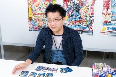 デュエマを担当するタカラトミー カード企画部の尾形俊幸氏